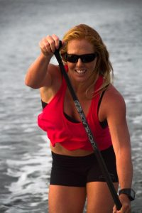Two-time World Champion Candice Appleby,California, Quickblade Paddles